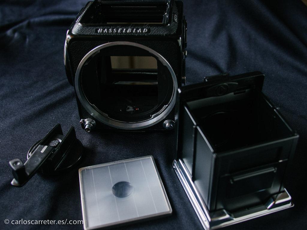 Hasselblad 503cx - Cuerpo de cámara desmontado