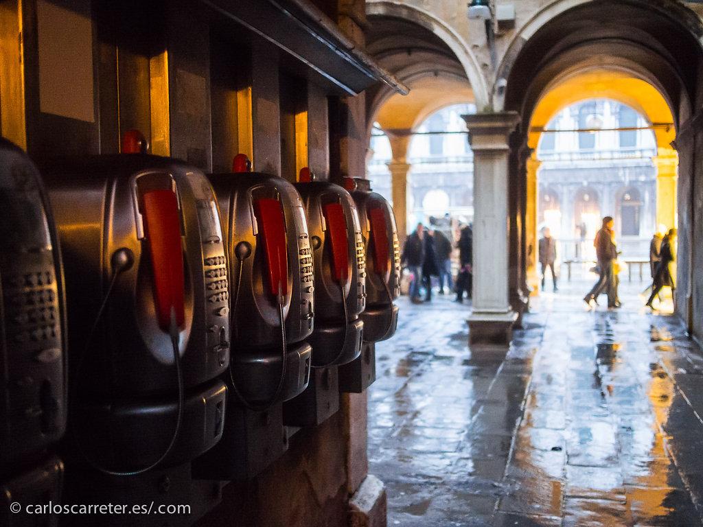 Antaño las cabinas de San Marco estaban siempre llenas