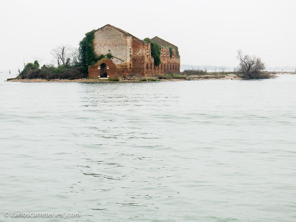 En la laguna, camino de Burano