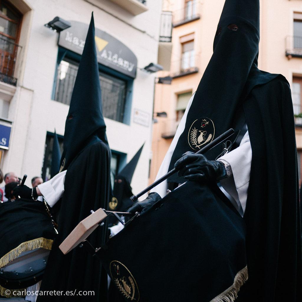 En la procesión