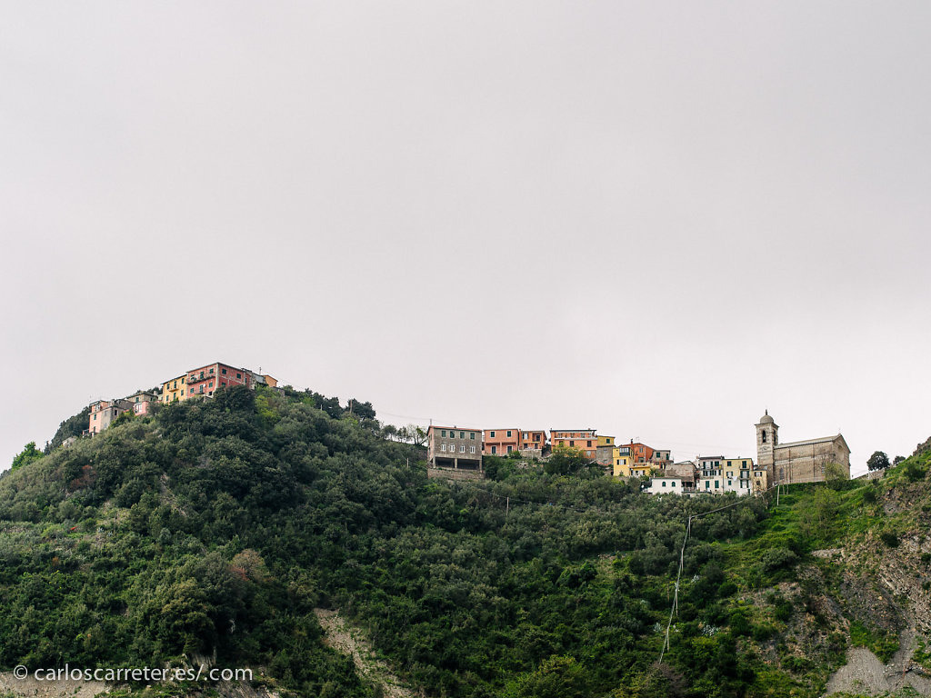 Entre Vernazza y Corniglia - San Bernardino