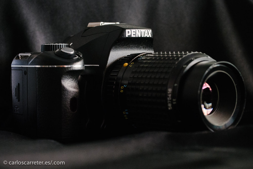 Pentax K-x + SMC-A 100/4 Macro