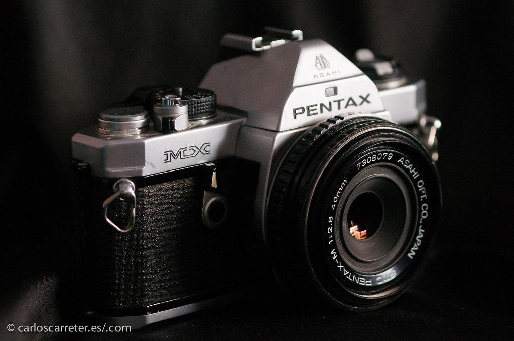 Pentax MX + SMC-M 40/2,9