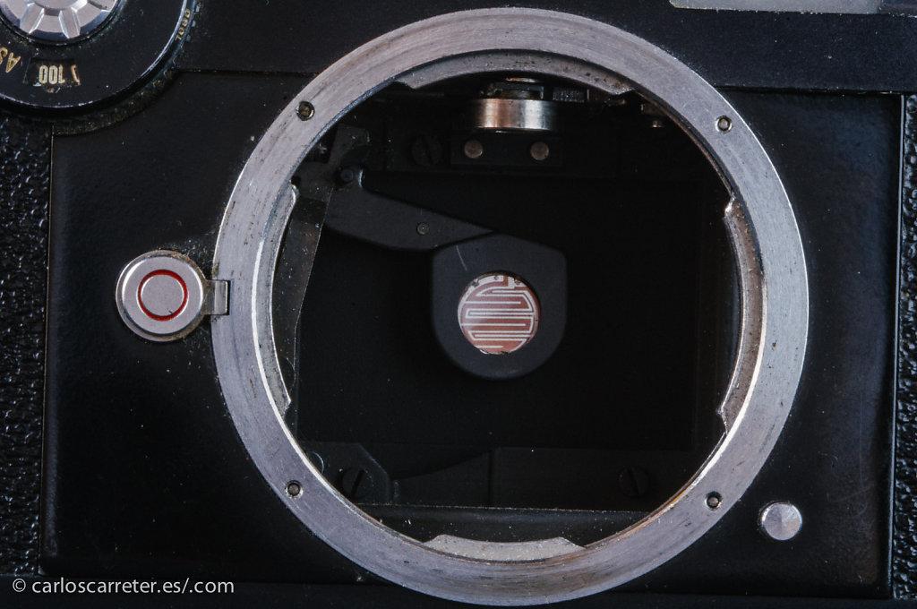 Medición TTL en Leica CL