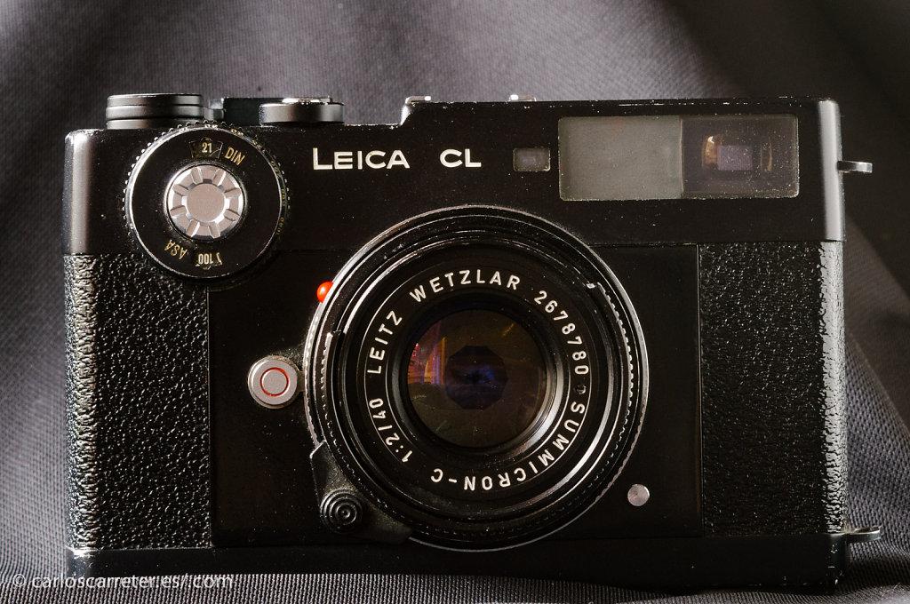 Leica CL + Summicron-C 40/2