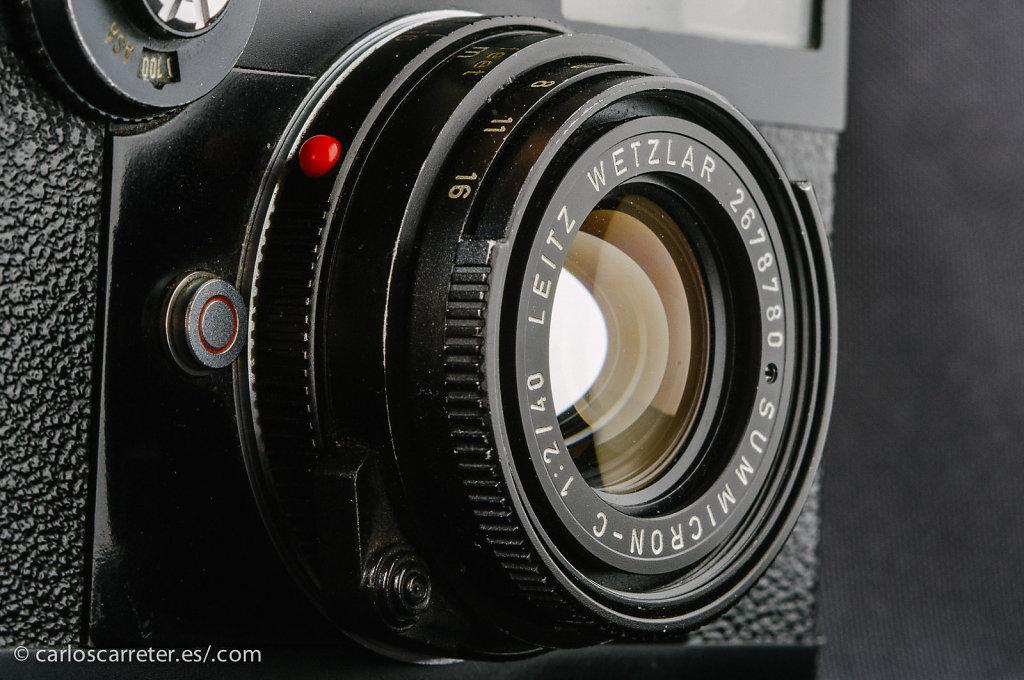 Leica CL (con Panasonic GF1)