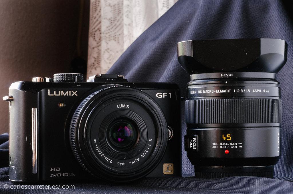 Panasonic Lumix GF1 + 20/1,7 ASPH + Macro-Elmarit 45/2,8 ASPH