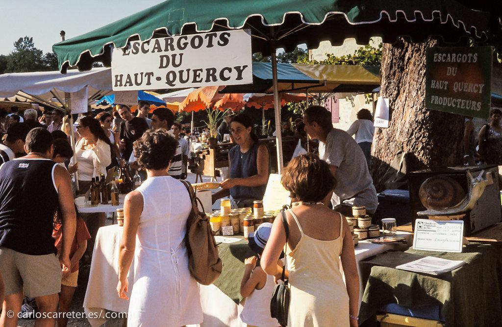 Mercado en Beaulieu s/ Dordogne