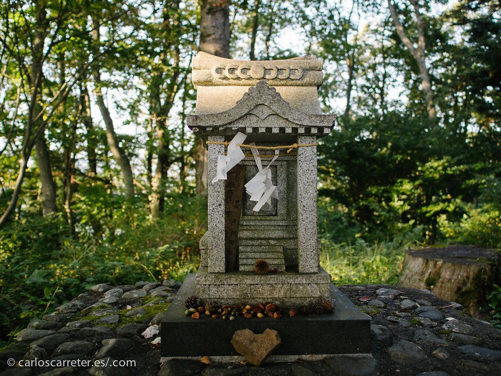 Santuario en el Monte Tenjo - Kawaguchiko