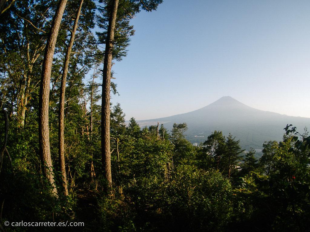 Vistas del Monte Fuji desde el Monte Tenjo - Kawaguchiko