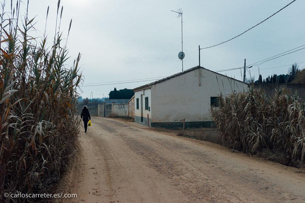 Paisaje suburbano - Huerta de las Fuentes